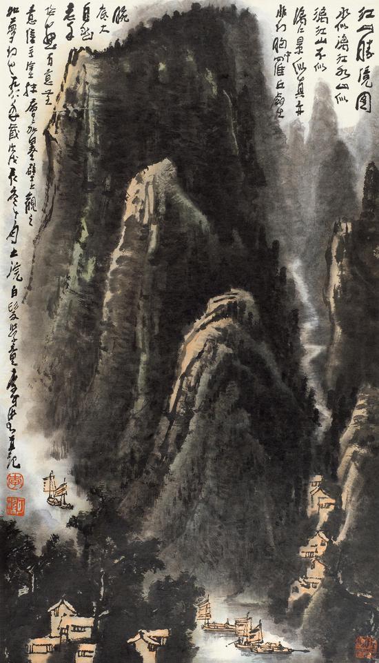 52 李可染(1907-1989) 江山胜境图